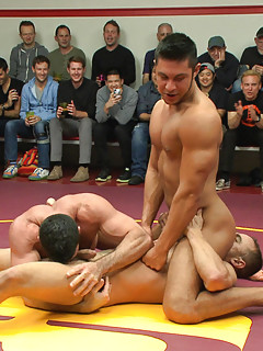 Hot gay wrestling sex